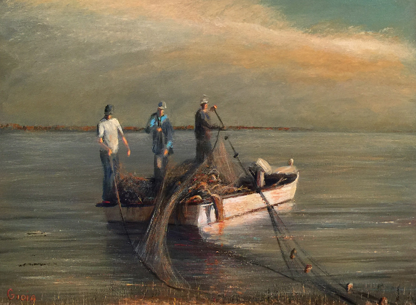 Three Fishermen