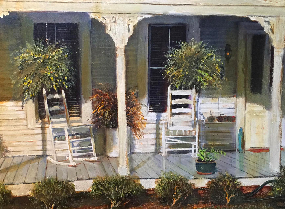 White Porch